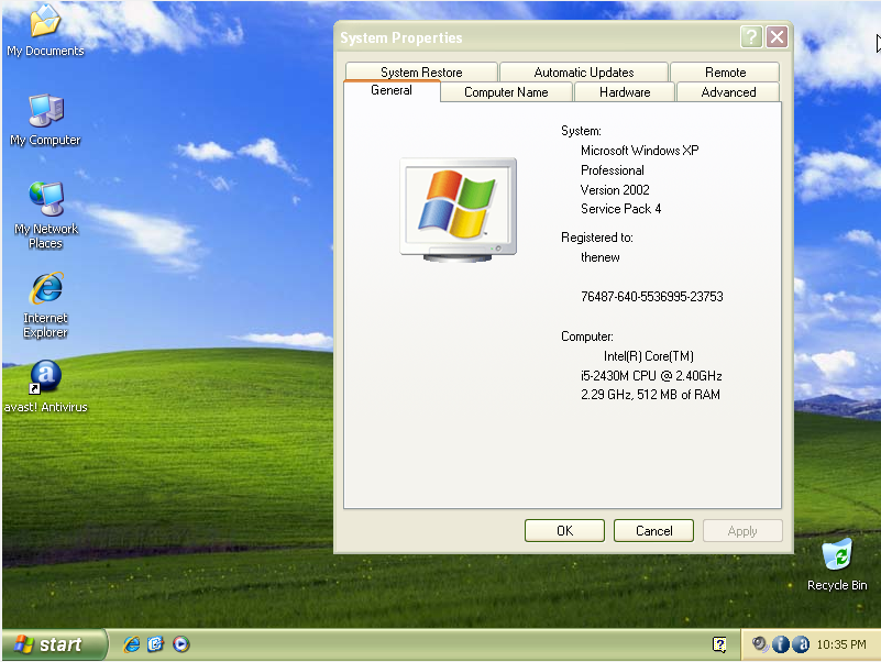 Windows xp service pack 4 [unofficial] microsoft windows xp.